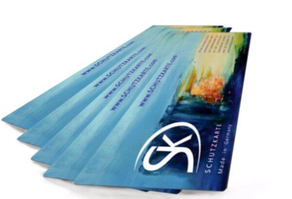 Schutzkarte als Handelsprodukt
